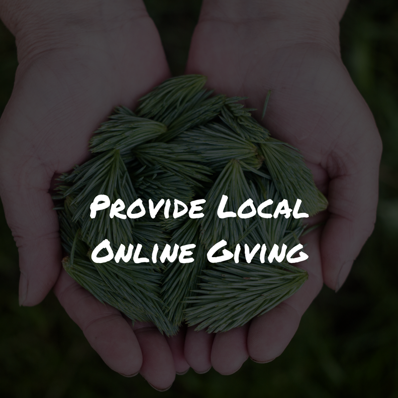 Provide Local Online Giving